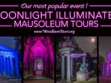 Tour De Lit Violet Douce tours & events the Woodlawn Cemetery